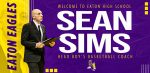 Sean Sims Named Boys Basketball Coach