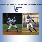 Hanna And Barr Named To SCBCA North-South All-Star Game