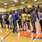 Panthers Honor Winter Sports Seniors