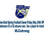 Blue-Gold Spring Game Friday