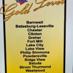 LCHS Athletics Recognized With Gold