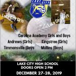 1st Annual Lake City Christmas Basketball Tournament
