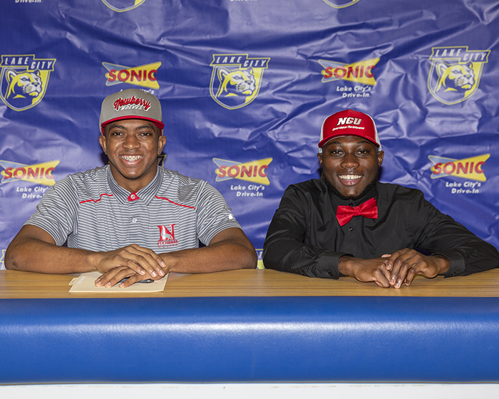 Two Panthers Sign Letters of Intent