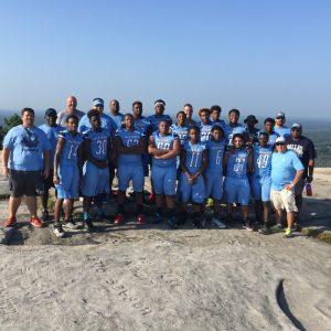 Senior Creek Warriors Make A Climb Up Stone Mountain