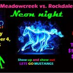 Neon Night at Meadowcreek, Friday, September 4th