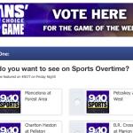 VOTE!!! SPORTS OT GAME OF THE WEEK!