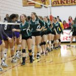 Volleyball Season Ends with Leland