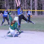 Forest Area High School Varsity Softball falls to Inland Lakes High School 11-1