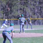 Forest Area High School Varsity Baseball falls to Inland Lakes High School 9-3