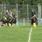 Forest Area High School Junior Varsity Football beat Bellaire High School 30-22