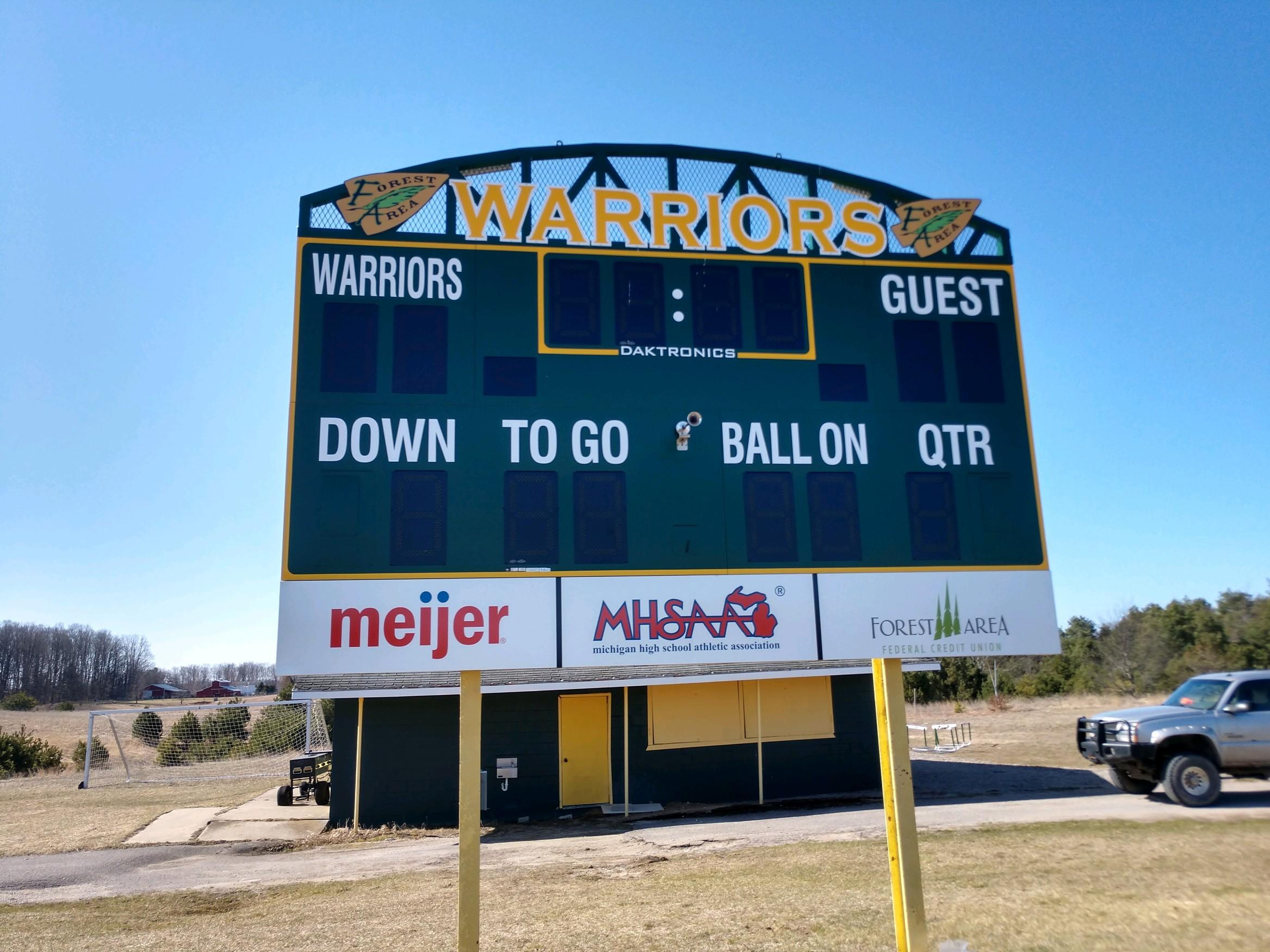 Football Scoreboard Upgraded