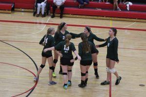 Girls Varsity Volleyball @Bellaire