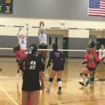 Volleyball takes on County Rival