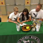 O'Brocto Signs With Wake Tech