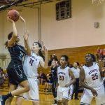 Girls Varsity Basketball beats Freedom 50 – 11