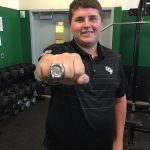 Alum Hokanson (2015) Shows Off Championship Ring
