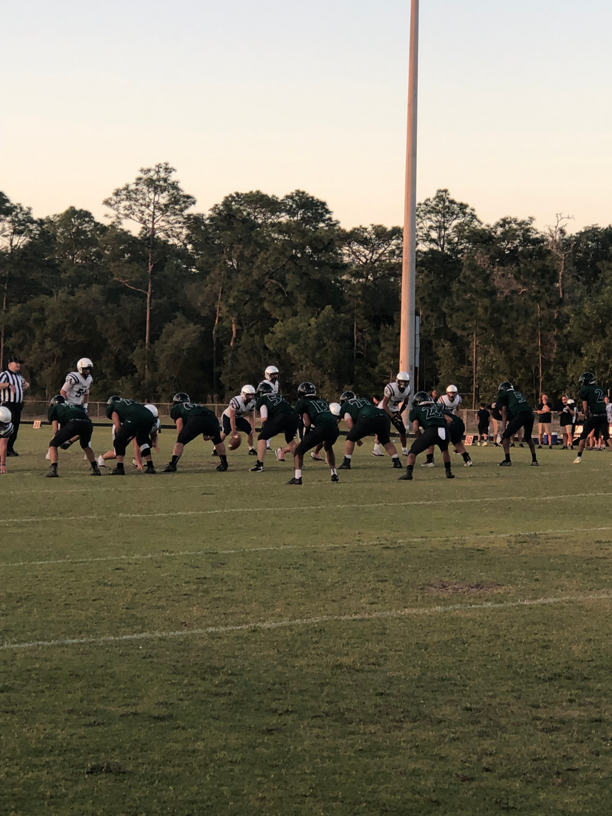 Hornets fall to Calvary Christian in Spring Football game