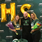Hill and Sereda sign with PHSC to play Volleyball