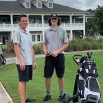 Hornets Boys Golf Team finished 3rd at GC8 Tournament