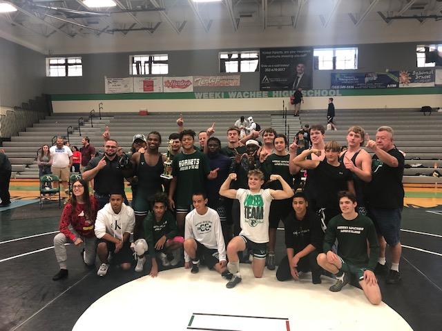 Wrestling Team Wins WW Dual Tournament