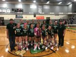 Volleyball Team wins District Championship