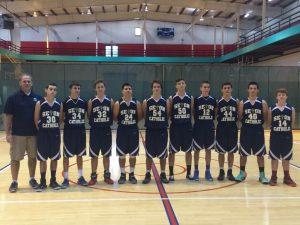 Seton JV Boys Basketball 2014-2015
