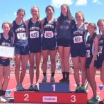 Girls Track and Field Take home State Academic Title!