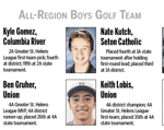 Kutch Selected to All Region Golf Team