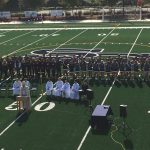 Seton Field and Track are Blessed in Final Home Football Game of Season