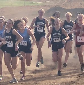 Cross Country at Hudson's Bay Invite