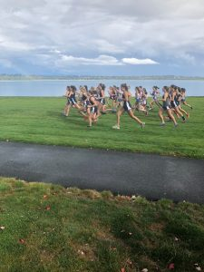 Cross Country at Vancouver Lake in Tri Co League Meet