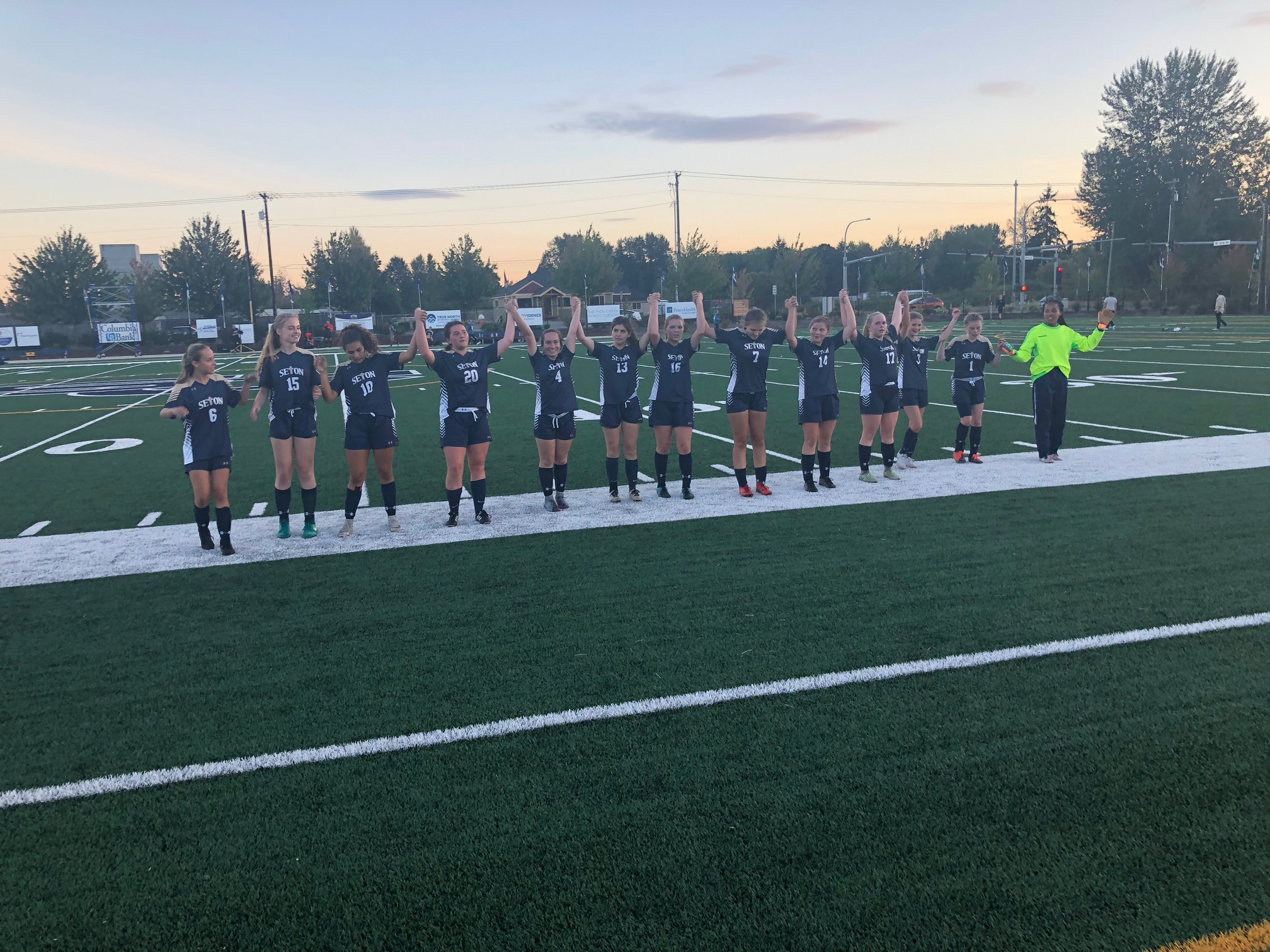 Girls Get the Victory in Their Home Opener 2-1 Over Westside Christian!