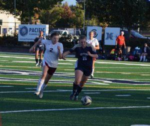 Girls Soccer vs Stevenson