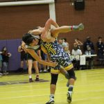 Cougar Wrestling On The Move!