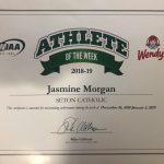 Seton's Jasmine Morgan Honored As WIAA/Wendy's Athlete Of The Week!