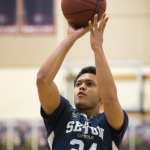 As Featured in The Columbian: Basketball journey continues for Seton Catholic's Morgan: Senior worked his way back from broken ankle