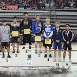Freshman CJ Hamblin Seton's First Wrestling State Champion!