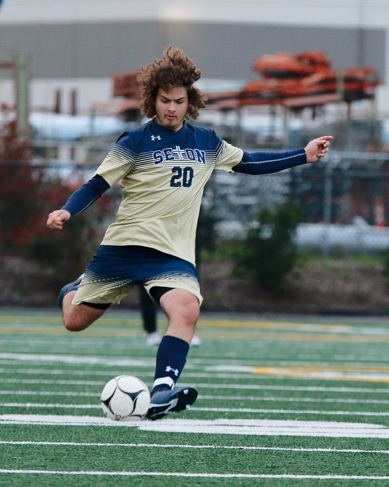 Seton Boys Soccer Heads Into Second Half of League Play Alone in Second Place