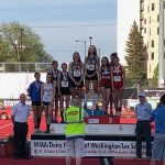 Seton's Ellie Saunders and Jerrica Pachl Take First and Second At Track State Championships!