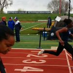 VP Women's Track take 3 relays at Caviness Meet