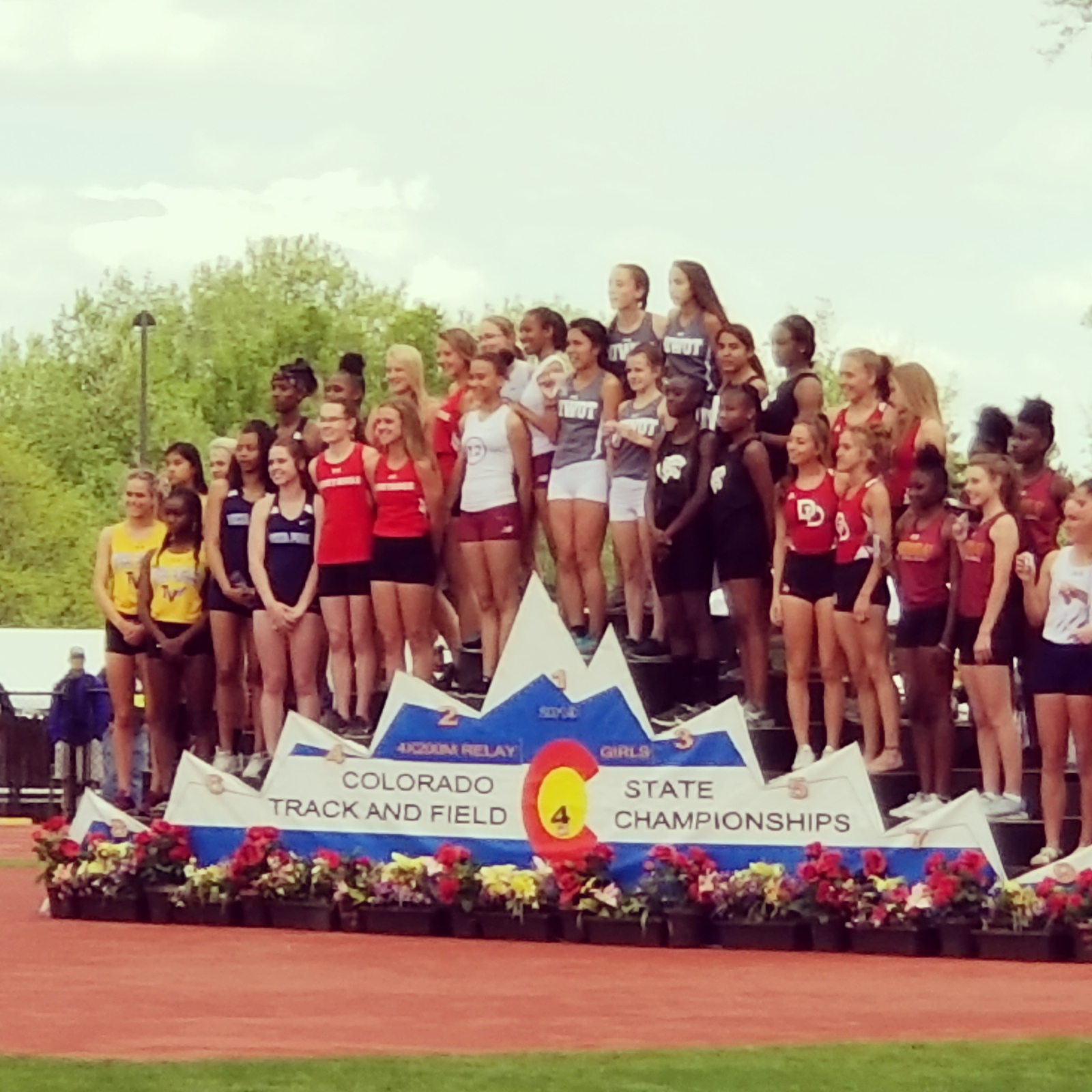 Multiple Podiums for VP Track at 2019 State Championships
