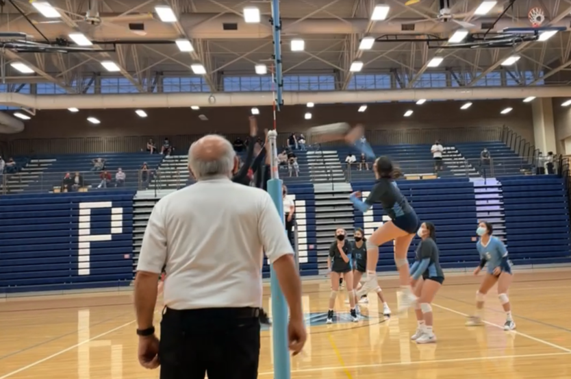 Volleyball Spikes the Win over Rangeview