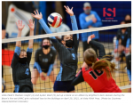 Volleyball gave it their all Tuesday night