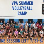 Last Call For Volleyball Camp!