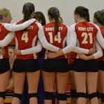 Varsity Volleyball Overcomes Deficit to Beat Holton