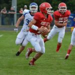 Kent City High School Football Varsity falls to Ravenna High School 14-62