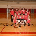 Freshman Volleyball Successful at Kelloggsville Quad