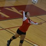 JV Volleyball Tops White Cloud