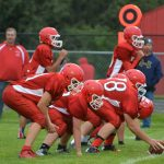 J.V. Football Falls to Lakeview