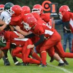 J.V. Football Loses League Opener 9-8 to Hesperia